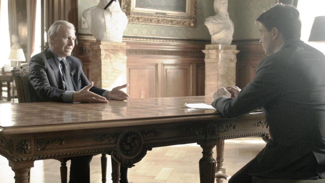 De val. Tien jaar na de crisis - Michaël Van Droogenbroek en Yves Leterme - (c) VRT / Sylvester