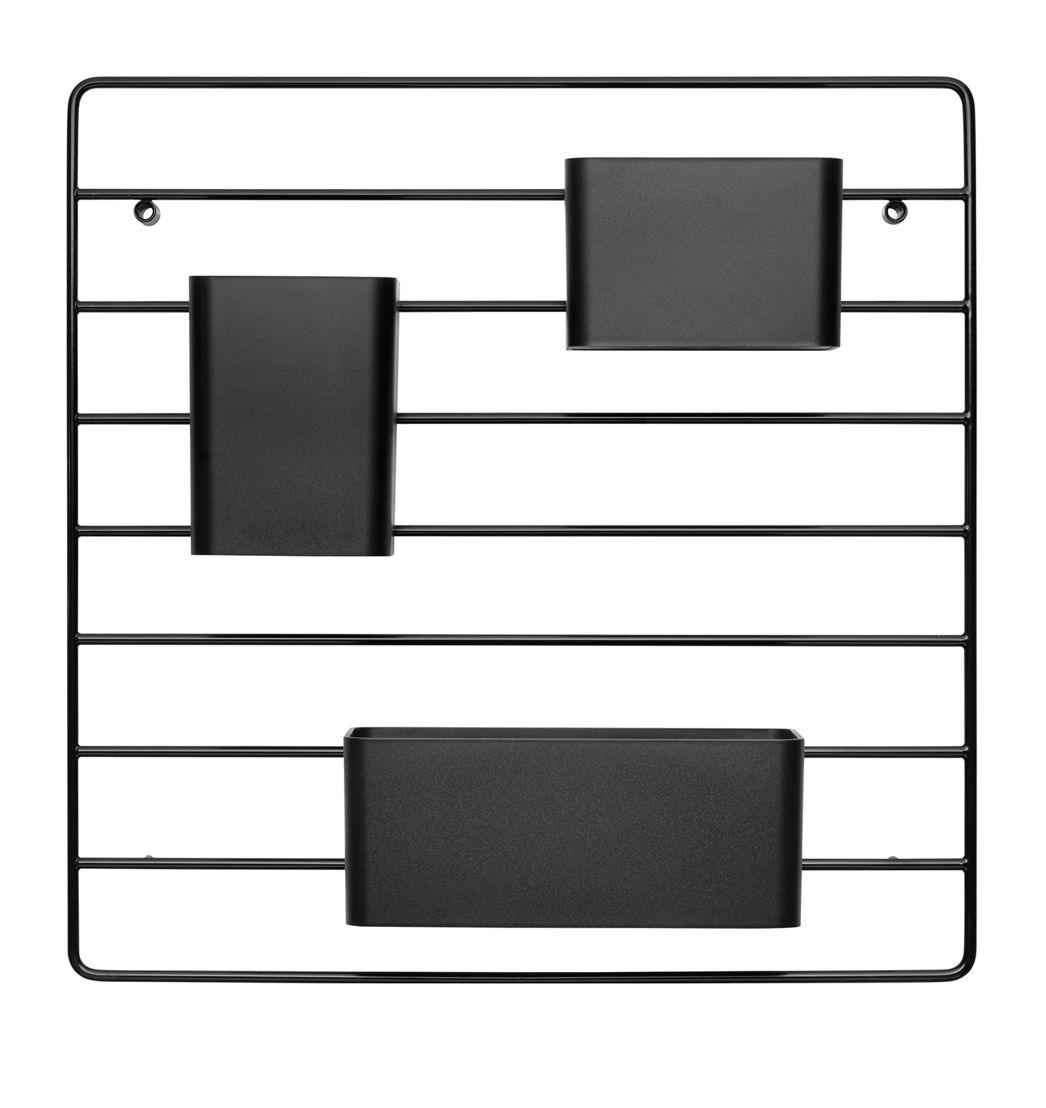 Nordic Living Grid for wall Black 39€