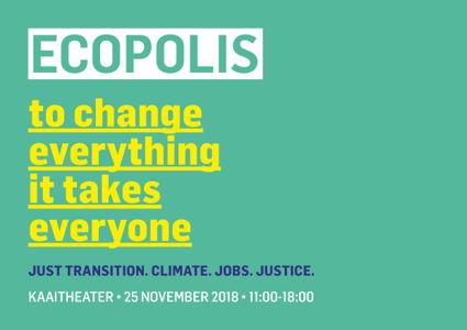 ECOPOLIS 2018: Just Transition