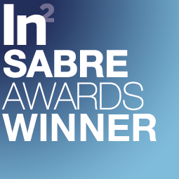 "Public Relations. SABRE Award Winner for ""Best Marketing Technology"""