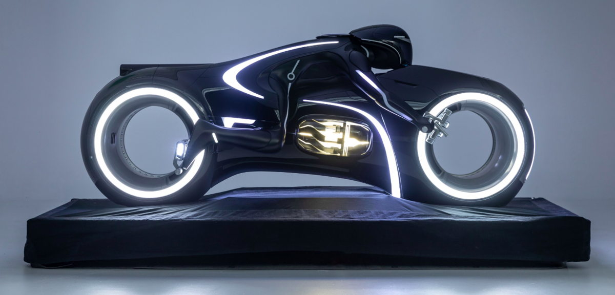 Light Cycle de Tron: Legacy (2010)  Crédito: Museo Petersen del Automovilismo