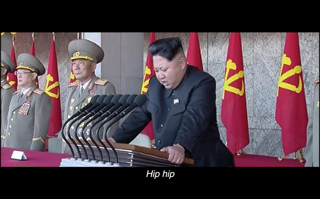 Dictators sing 'Happy Birthday' for reporters without borders