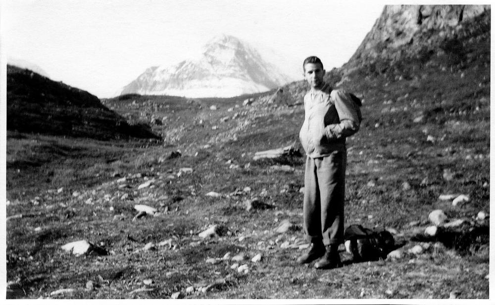 Roland Michaud en Laponie au début des années 1950. © Roland & Sabtina Michaud / akg-images