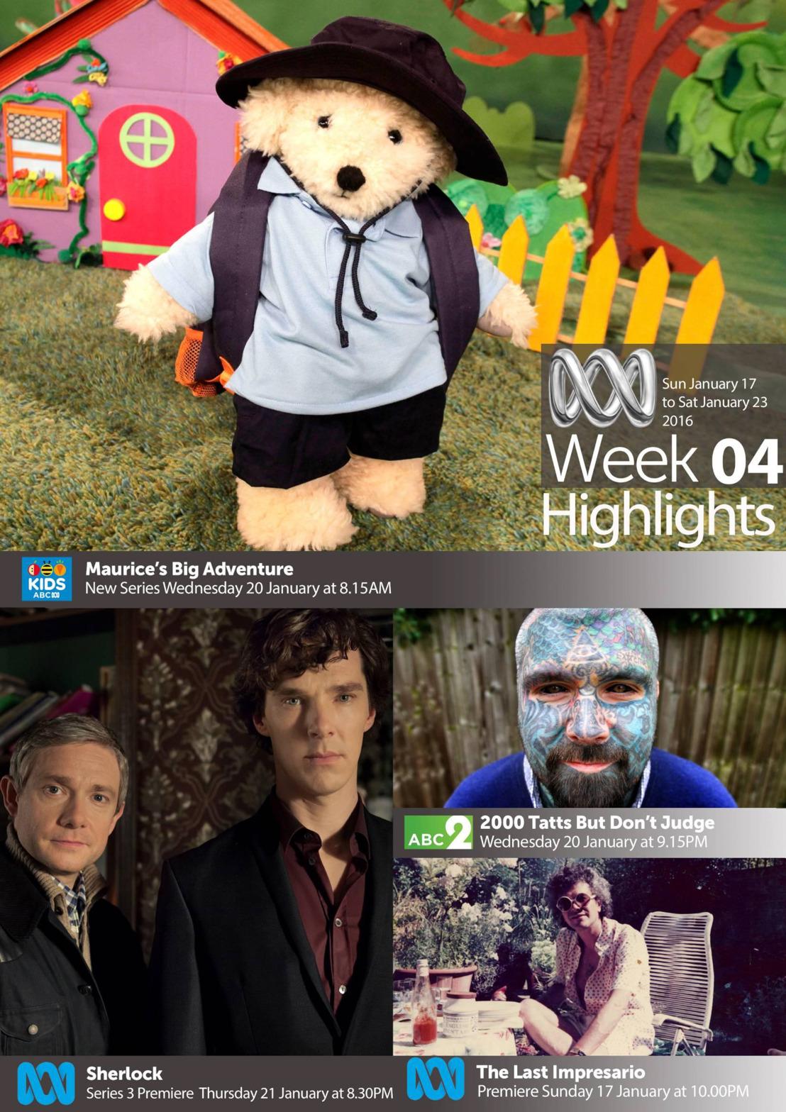 ABC TV Highlights - Week 4
