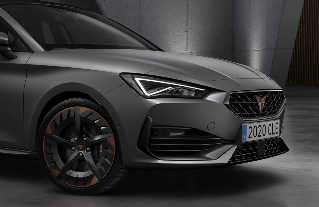 CUPRA opens the doors of its new headquarters with the debut of the first CUPRA Leon