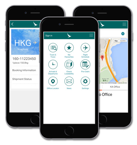 Cathay Pacific launches new mobile app for cargo customers