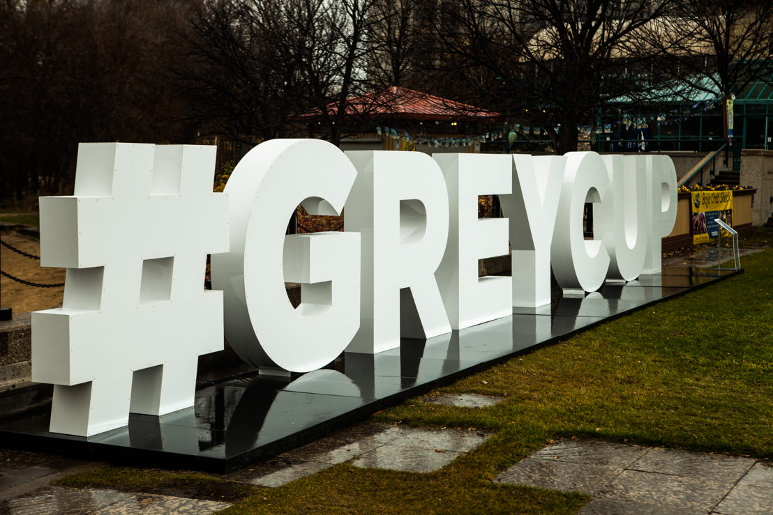 #GreyCup sign