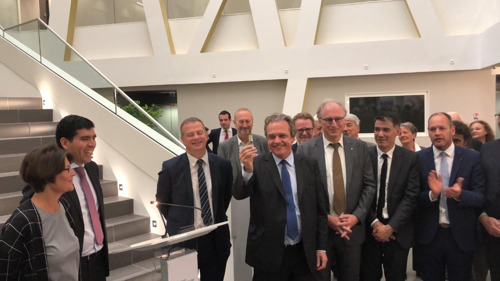 BESIX hands over ultramodern hospital to satisfied client (Paris)