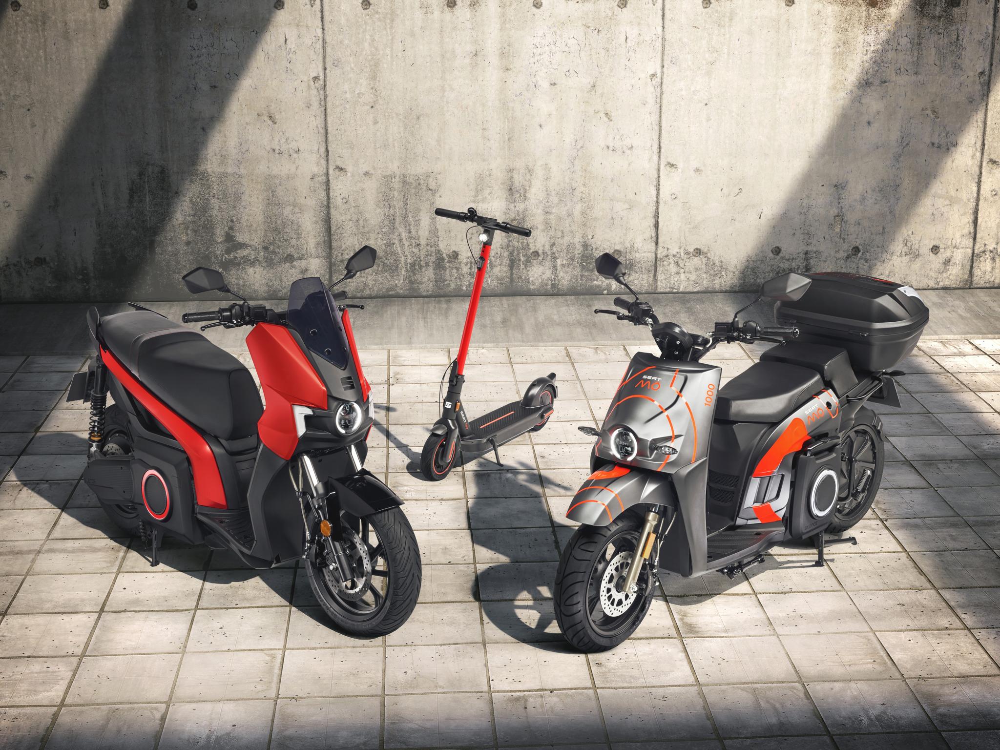 Première mondiale des SEAT MÓ eScooter 125 et SEAT MÓ eKickScooter 65