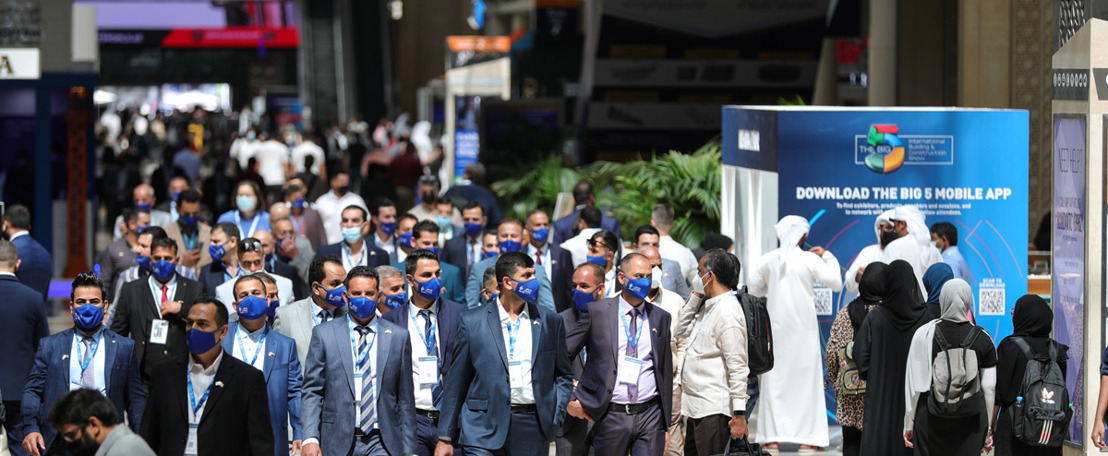 DUBAI HOSTS OVER 36,000 GLOBAL PROFESSIONALS AT THE FIRST IN PERSON CONSTRUCTION EVENT IN TWO YEARS