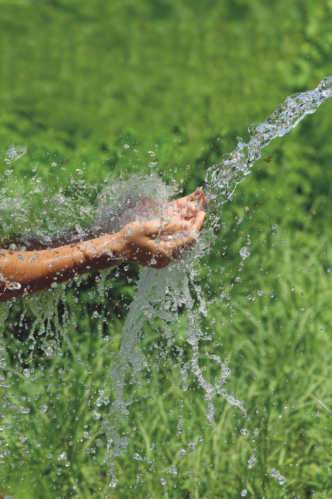 Puur genieten van water ondanks zomerdroogte – drie tips voor bewust waterbeheer met GROHE