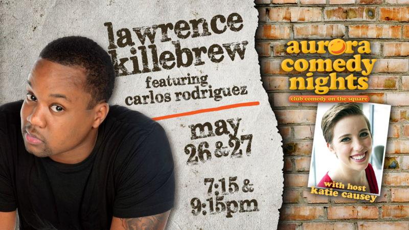 Lawrence Killebrew Comedy Night (photo credit Aurora Theatre)