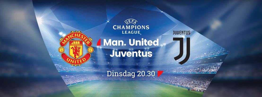 Imke Courtois mee aan analistentafel tijdens Manchester United – Juventus