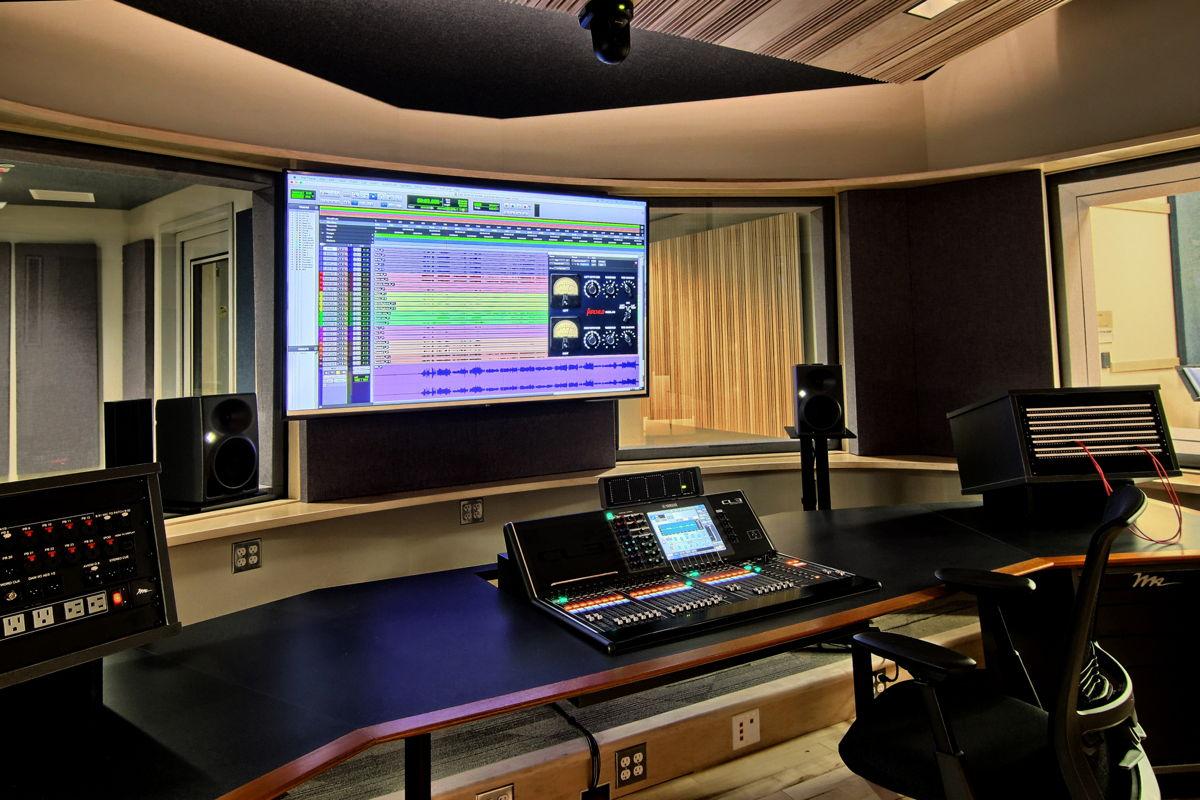WSDG-designed Interlochen Control Room A photo by BlueLaVaMedia