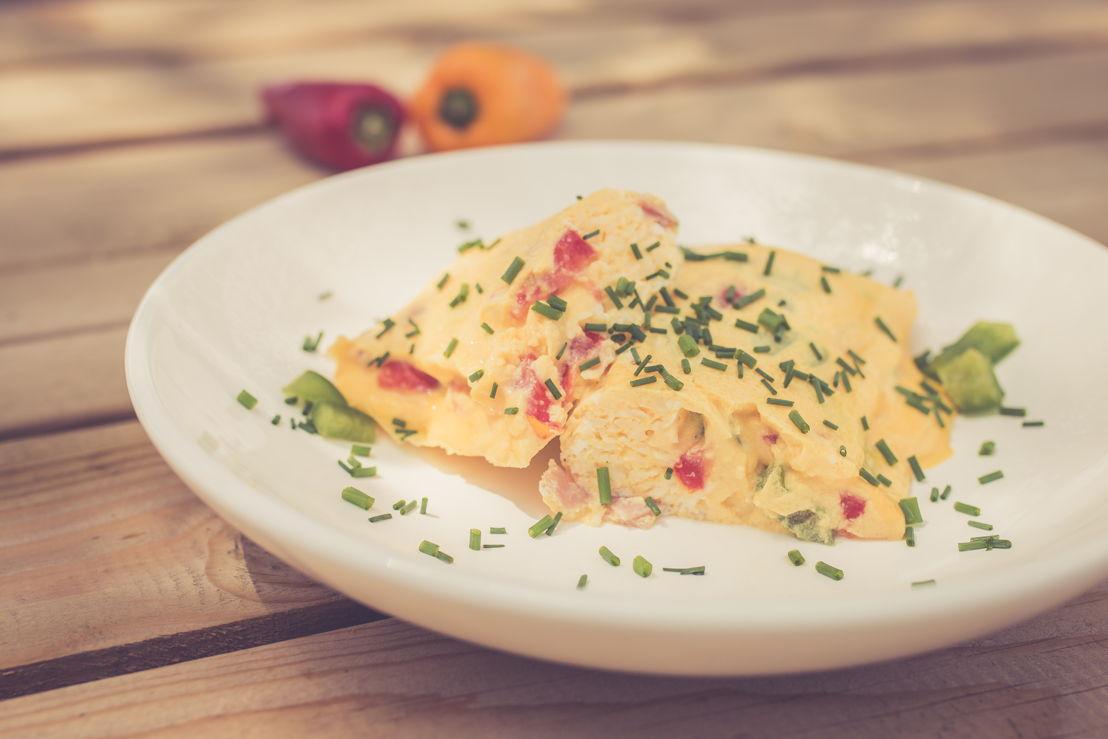 Omelette en sachet