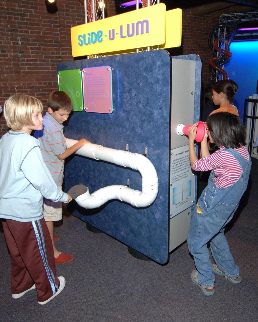 Slide-u-lum (Photo Credit: Boston Children's Museum)