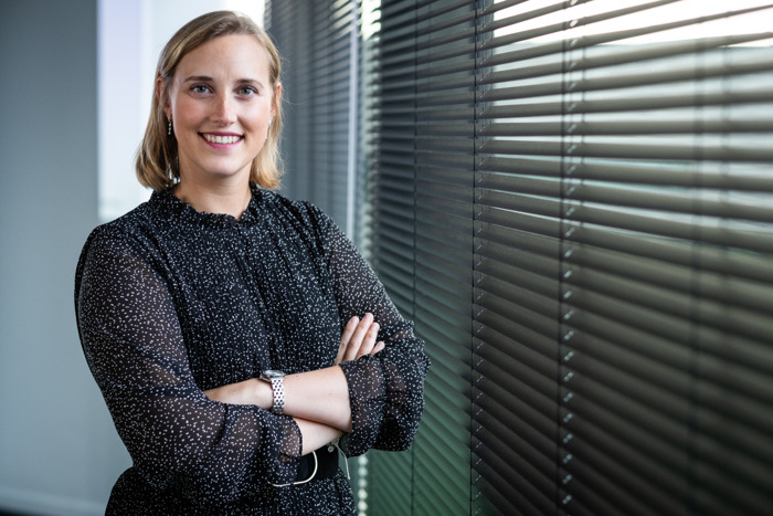 Julie Scherpenseel van het Gentse ML6 is Young ICT Lady of the Year