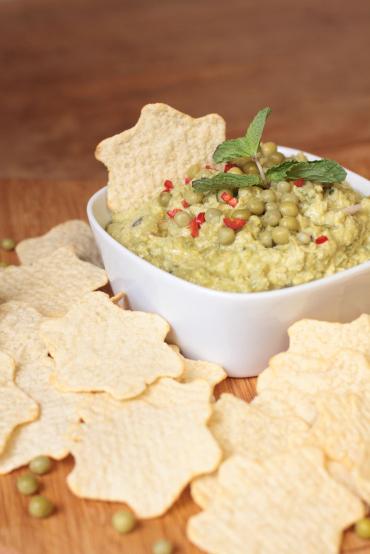 Lay's Oven Stars Minty Pea Dip