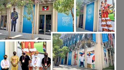 Antigua and Barbuda Pavilion Doors Open at Expo Dubai 2020