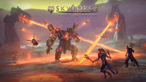 Rock and Metal Expansion Comes to Skyforge on December 17!