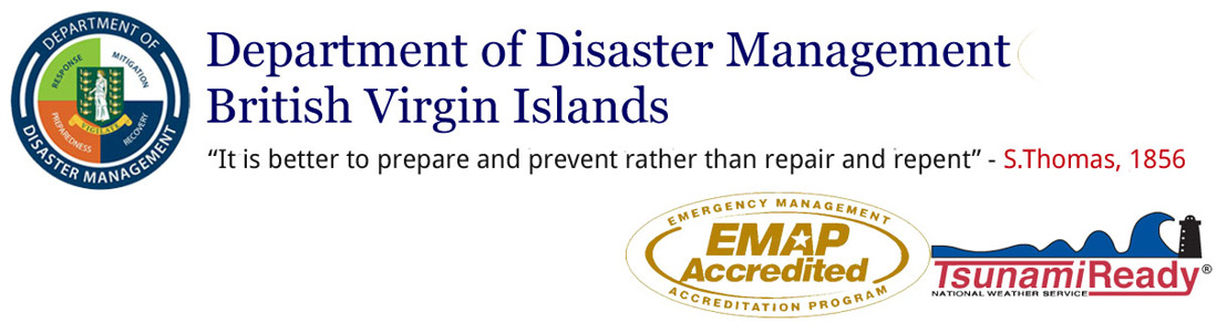 Updates from the BVI Department of Disaster Management