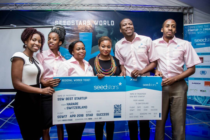 MyRunner named Zimbabwe's best startup at Seedstars Harare 2017