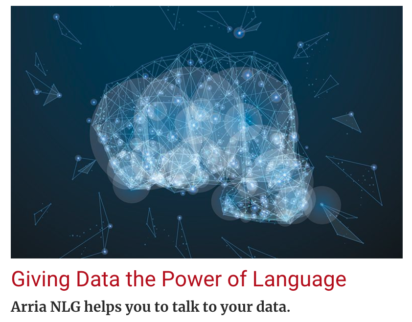 Giving Data the Power of Language