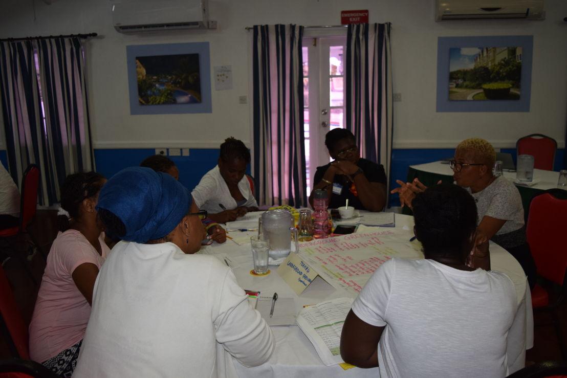 Team mentorship session.