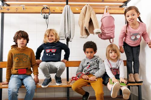 KIABI FW18: Lifestyle Images Kids