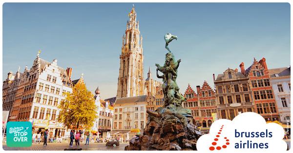 Preview: Avec le Belgium Stop Over, Brussels Airlines veut stimuler le tourisme belge