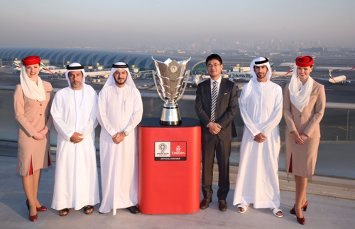 Emirates brings iconic Asian Cup trophy to Dubai ahead of highly anticipated AFC Cup 2019