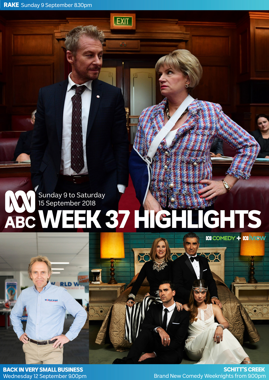 ABC TV Program Highlights - Week 37