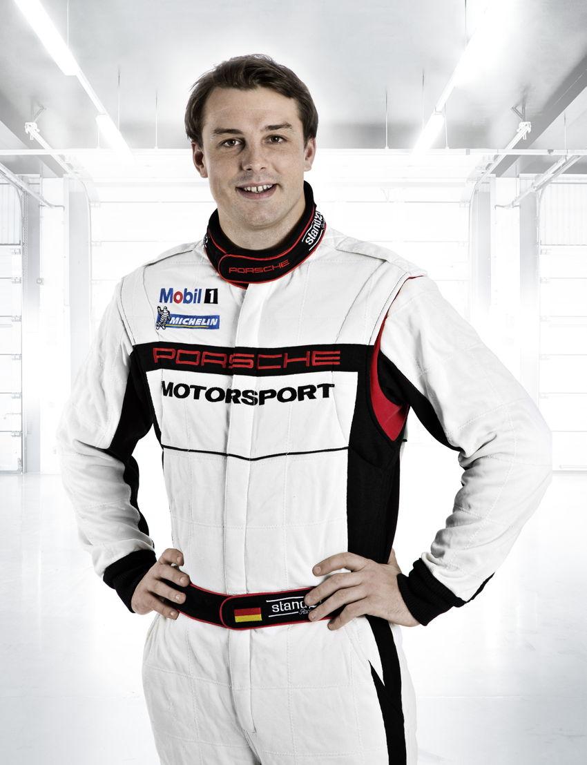 Porsche-Werksfahrer Earl Bamber (NZ)