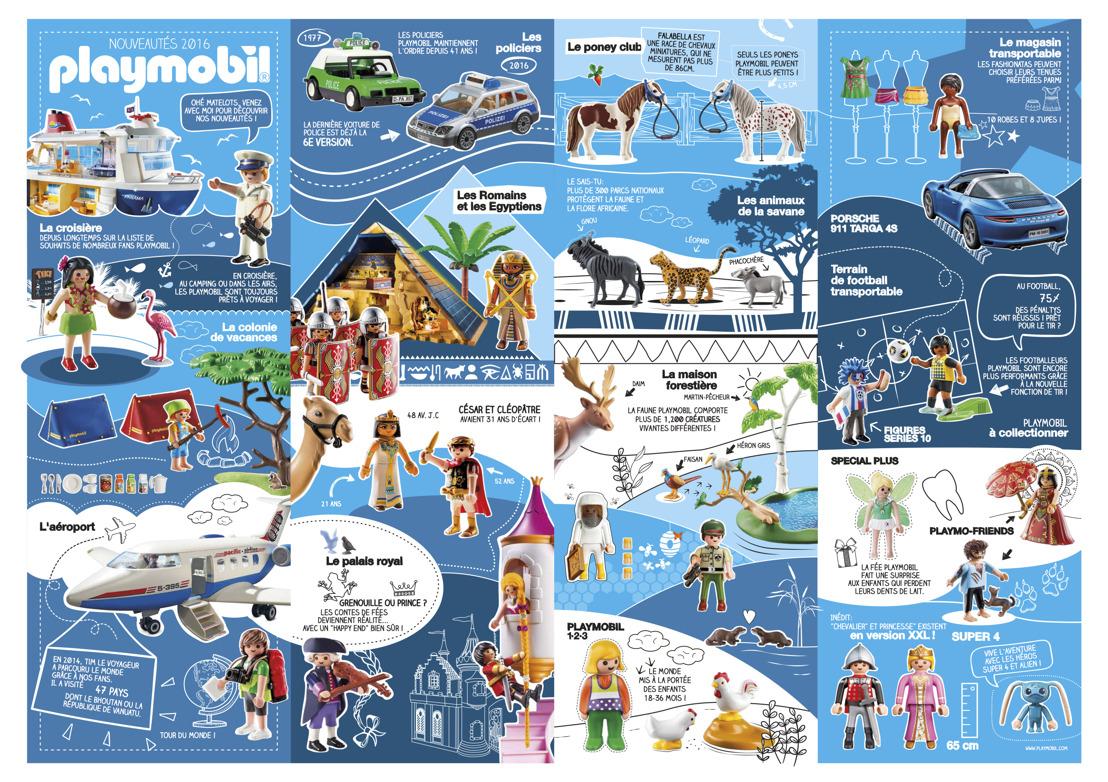 PLAYMOBIL®  - Quoi de neuf et de chouette en 2016 ?