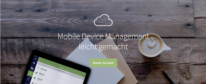 Cortado: Apple und Android Device Enrollment aus der Cloud
