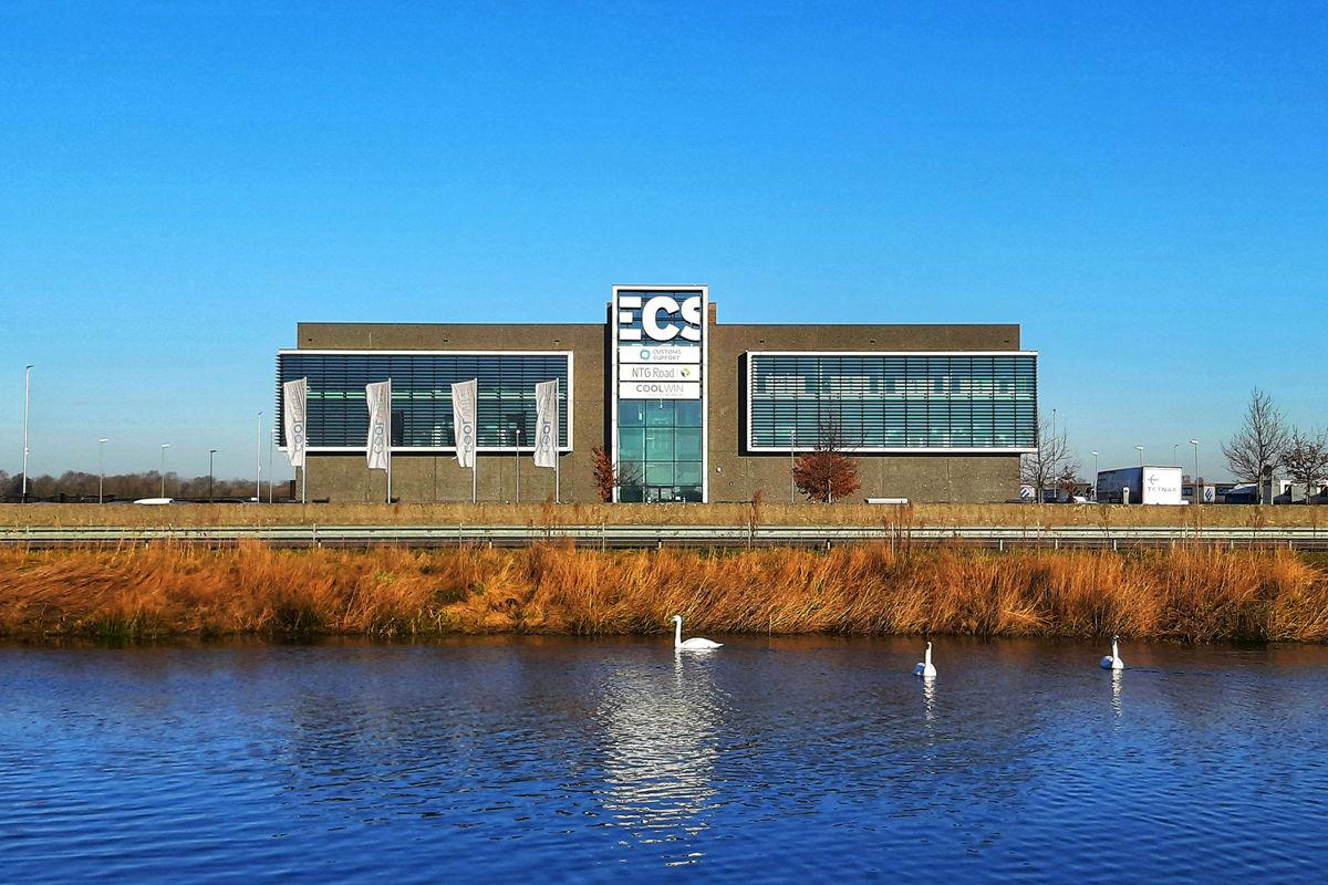 Het nieuwe kantoor van ECS in Venlo werd in 2017 in gebruik genomen.