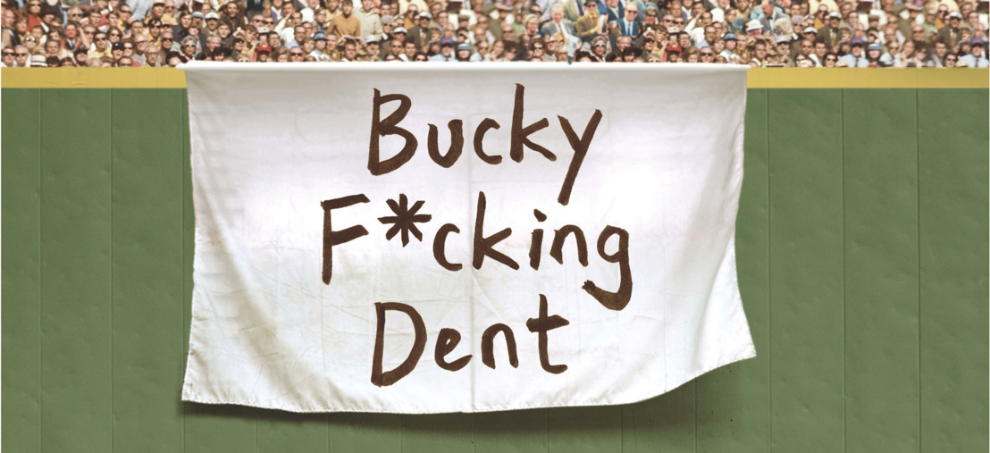 Duchovny slaat homerun met 'Bucky F*cking Dent'