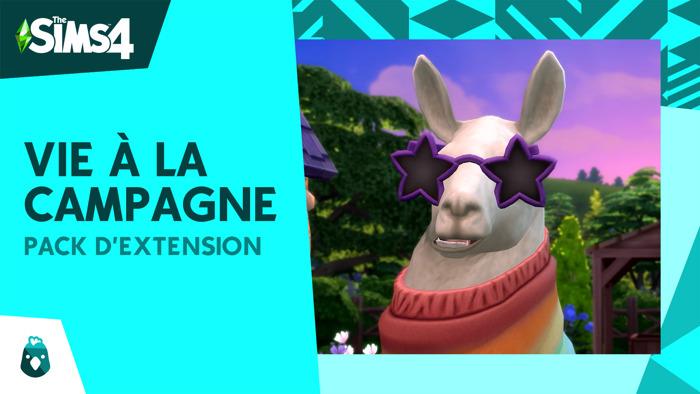 Découvrez ce que vous réserve la nouvelle extension Les Sims 4 Vie à la campagne dans la nouvelle bande-annonce