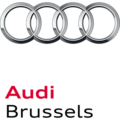 Audi Brussels press room Logo