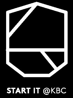 HR logo Start it @kbc - wit
