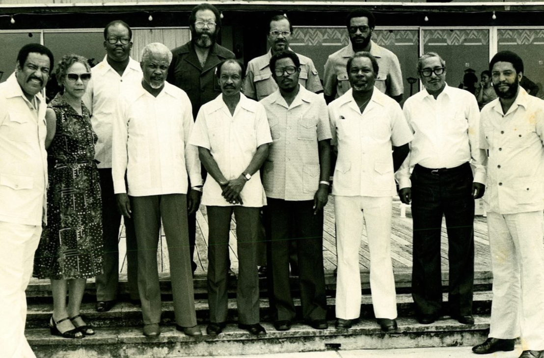 Sir Kennedy Simmonds and OECS Heads