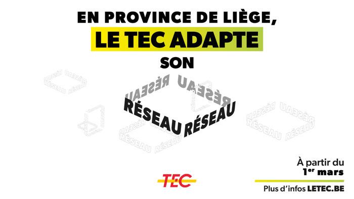 Liège-Verviers | Adaptation du réseau pour les régions d'Eupen, Welkenraedt et Liège !