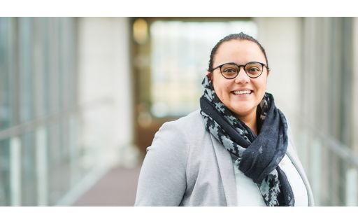 Valentine studeerde Office Management en vond meteen haar droomjob in de HR