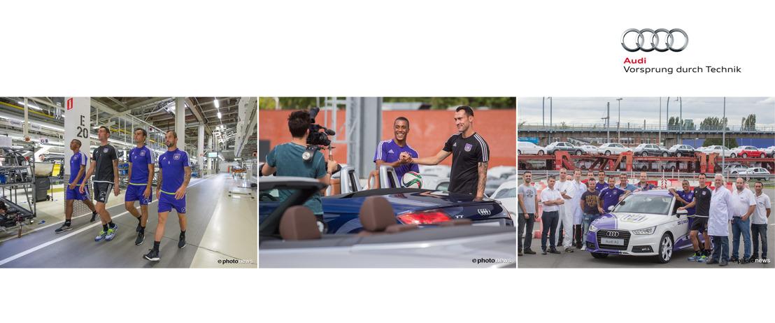 Audi daagt spelers RSC Anderlecht uit