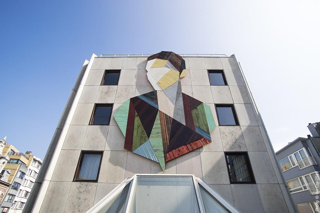 Pour la troisième fois, le Crystal Ship débarque à Ostende pour y apporter le monde de l'art