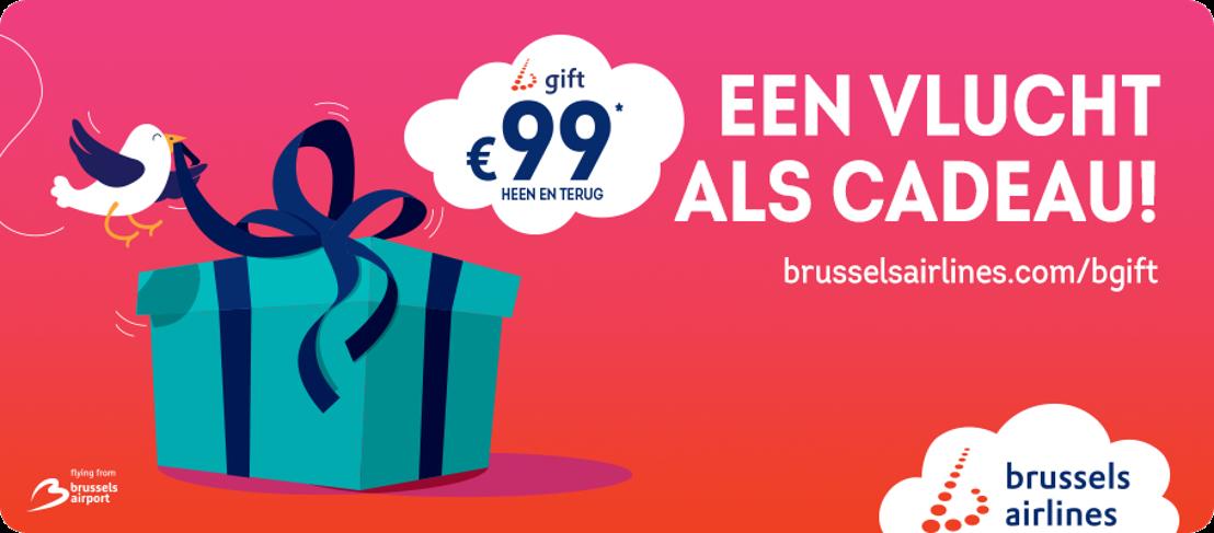 Brussels Airlines lanceert b.gift, het meest originele geschenk