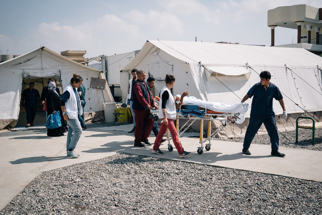 Mosul: MSF treats war wounded and supports hospitals