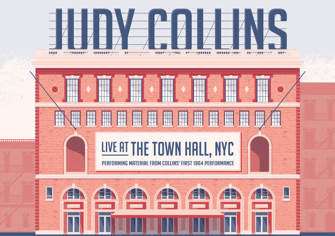 JUDY COLLINS — to release new Live At The Town Hall NYC album