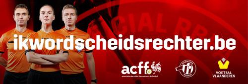 Belgisch voetbal op zoek naar 700 extra scheidsrechters via grootschalige rekruteringscampagne