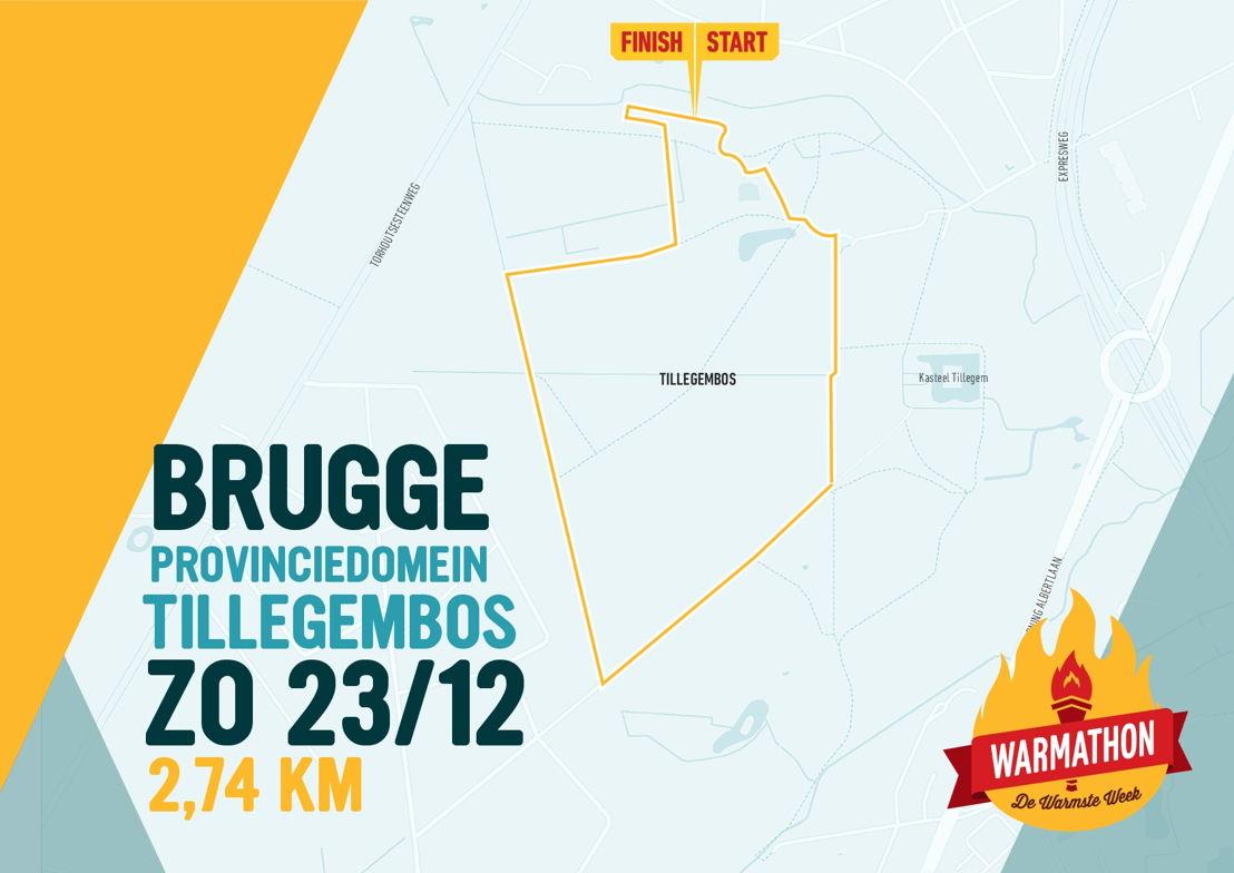 Warmathon Brugge © VRT